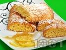 Рецепта Лимонов кекс с мед